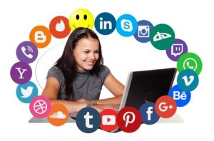 Soziale Medien Betreuung